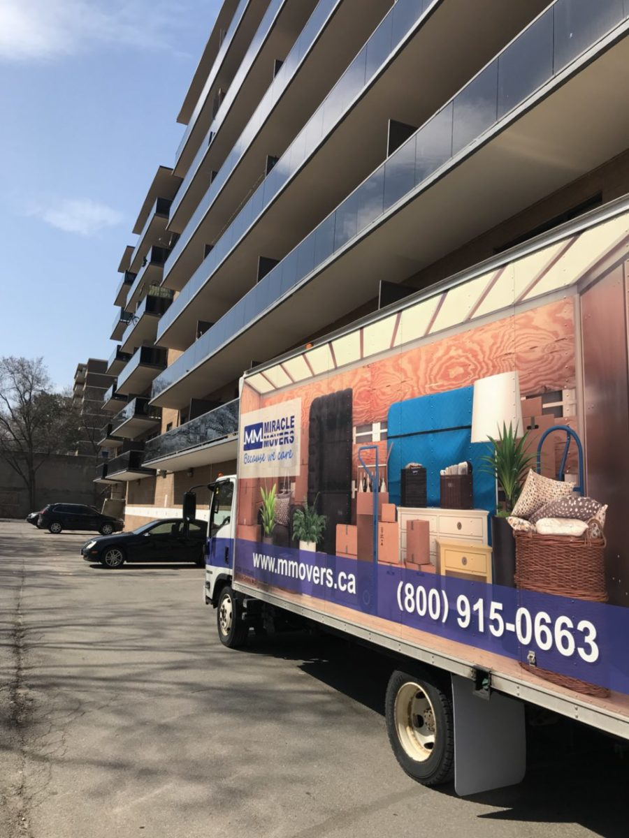 Miracle Movers is a moving company that covers GTA and other parts of Ontario